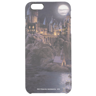 Boot zu Hogwarts Schloss Durchsichtige iPhone 6 Plus Hülle