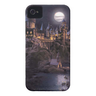 Boot zu Hogwarts Schloss iPhone 4 Cover