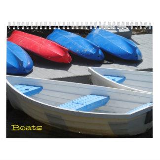 Boote 2018 wandkalender