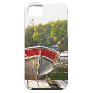 Boote am Hafen Schutzhülle Fürs iPhone 5
