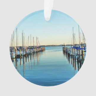 Boote am Jachthafen durch Shirley Taylor Ornament