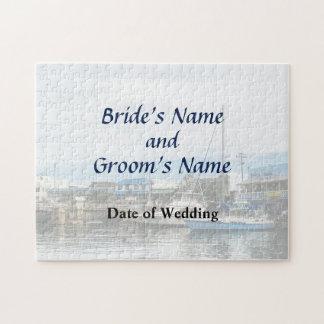 Boote in Bridgetown Barbados, die Produkte Wedding Puzzle
