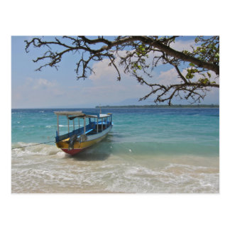Bootfahrt in den Tropen Postkarte