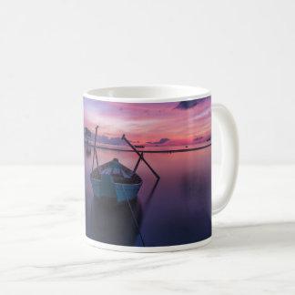 Bootfahrt-Kanu-Kajak-Segelboot-Boots-Tasse Kaffeetasse