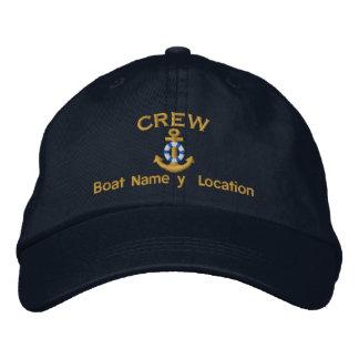 Boots-Crew Ihr Boots-Name Ihr Name Bestickte Mütze