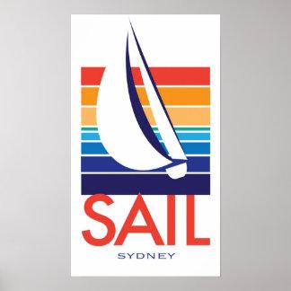 Boots-FarbeSquare_SAIL Sydney Plakat