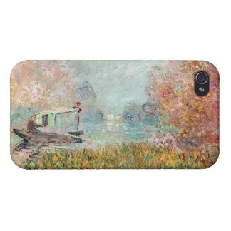 Boots-Studio Claude Monets   auf der Seine iPhone 4 Schutzhülle