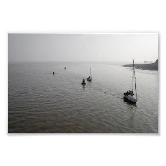 Boots-Zurückbringen Fotodruck