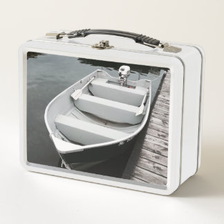 Bootsladung des Spaßes Metall Lunch Box