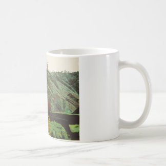 Boquete, Malerei Panama#3 Kaffeetasse