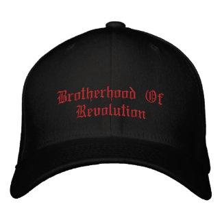 """BOR """"lebhaftfreies oder sterben"""" gestickter Hut Besticktes Baseballcap"""