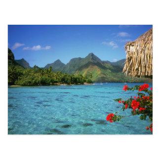 Bora Bora Insel, Französisch-Polynesien Postkarte