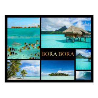 Bora Bora Luxuscollagenpostkarte Postkarte