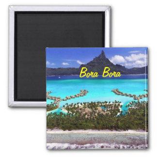 Bora Bora Magnet Kühlschrankmagnete