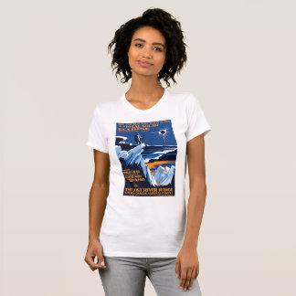 Borah Höchstidaho Sonnenfinsternis-T-Shirt T-Shirt
