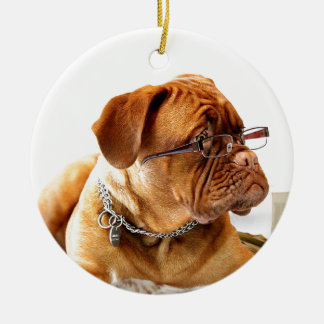 BordeauxMastiff, französisches Mastiff Bordeauxdog Keramik Ornament