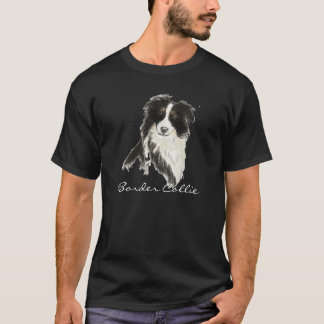Border-Collie-Hund O T-Shirt