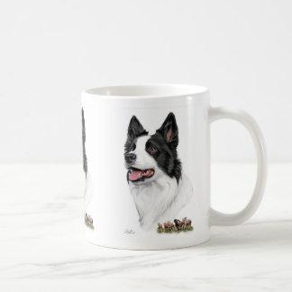 Border-Collie mit Schafen Kaffeetasse