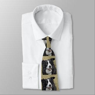 Border-Collie Personalisierte Krawatten