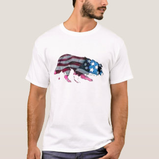 Border-Collie Tee~Memorial Tag T-Shirt