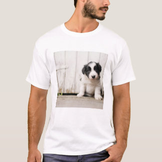 Border-Collie-Welpe T-Shirt