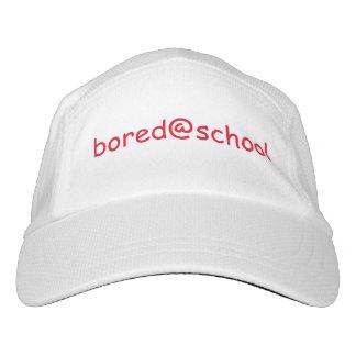 bored@school-Weißhut Headsweats Kappe