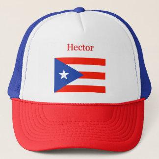 Boricua Banderas puertorikanische Flagge 4Hector Truckerkappe