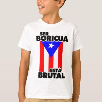 Boricua sein dieses Brutal. T-Shirt