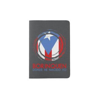 Borinquen Puerto Rico Flagge Passhülle