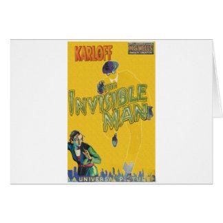 Boris Karloff als der unsichtbare Mann Karte
