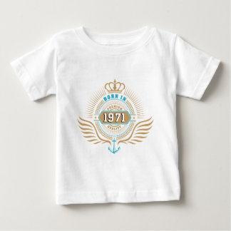 Born in 1971 baby t-shirt