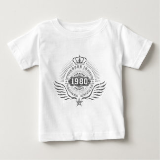 born in 1980 baby t-shirt