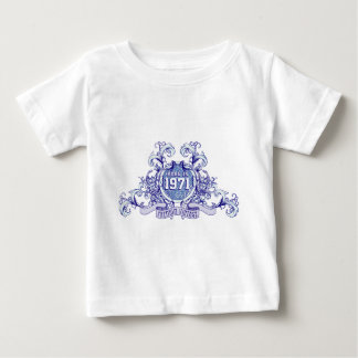 born in the year 1971 baby t-shirt