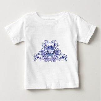 born in the year 1982 1981 1980 baby t-shirt