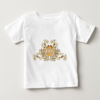 born in the year 2003 2004 2011 baby t-shirt