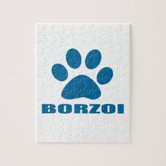 BORZOI-HUNDEentwürfe Puzzle