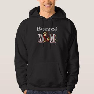 Borzoi-Mamma-Geschenke Hoodie