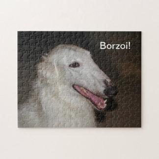 Borzoi-Puzzlespiel Puzzle