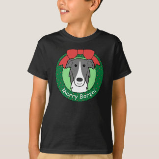 Borzoi-Weihnachten T-Shirt