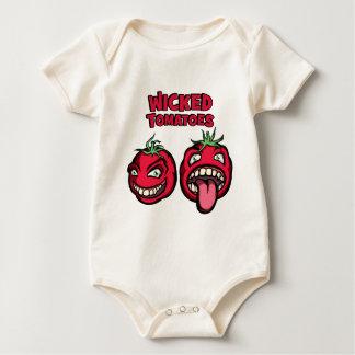 Böse Tomaten Baby Strampler