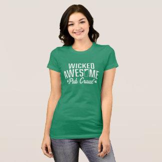 Bösen fantastisches St Patrick Tagespub-Schleichen T-Shirt