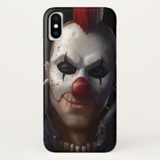Böser Clown iPhone X Hülle
