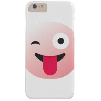 böser Emoticon, der Abdeckung blinzelt Barely There iPhone 6 Plus Hülle