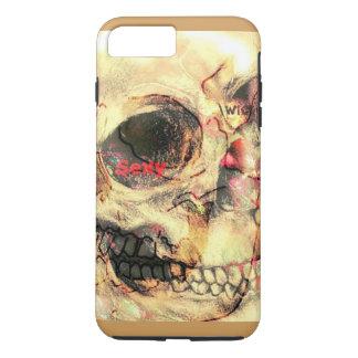 Böser Schädeltelefonkasten iPhone 8 Plus/7 Plus Hülle