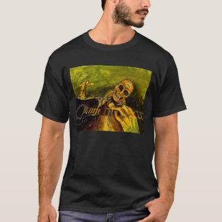 böser skeleton Gitarrist T-Shirt