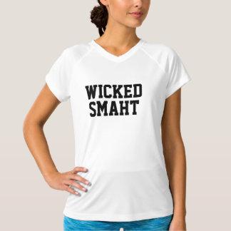 Böser Smaht Boston Akzent V - Hals Sport Tek Shirt