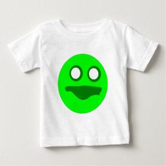 Böses grünes Gesicht Baby T-shirt