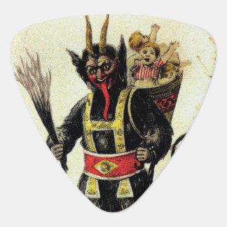 Böses Krampus beängstigendes Gitarren-Pick