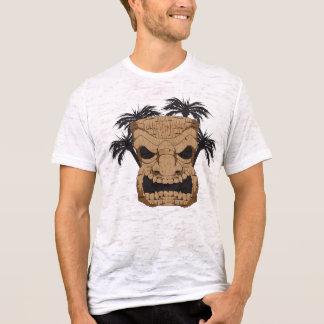 Böses Tiki, das der Burnout-T - Shirt der Männer