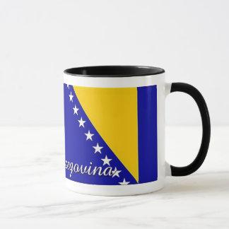 Bosnien-Herzegowinaflaggen-Kaffee-Tasse Tasse